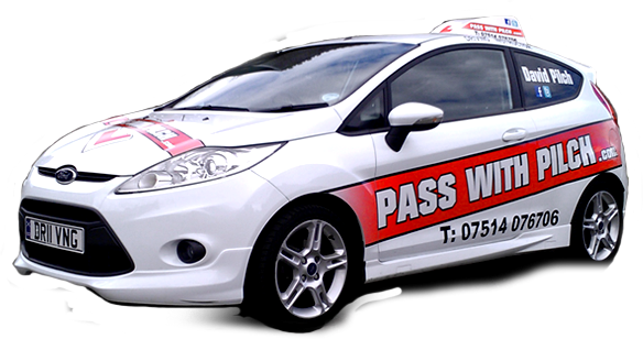 Pass with Pilch - driving instructors car for learner drivers
